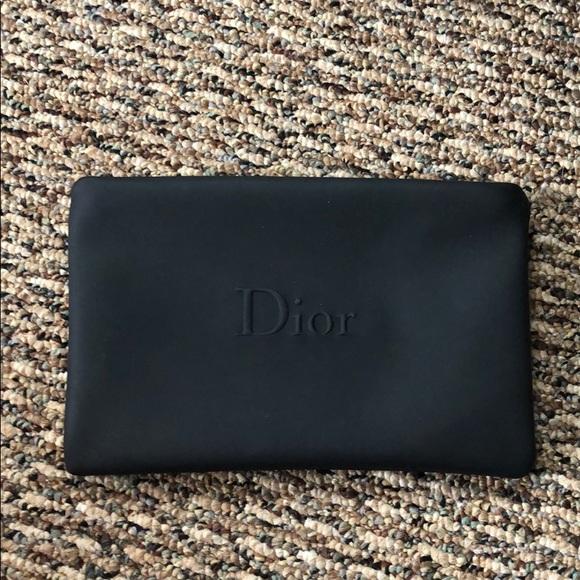 Dior Handbags - Small Black Dior Pouch